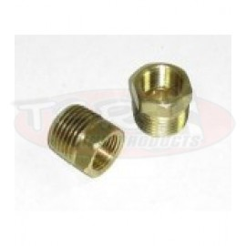 Bushing, 1/2 NPT Male to 1/4 NPT Female Brass TC-3220